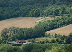 Across the valley (nomlet) Tags: monument cross shoreham darent