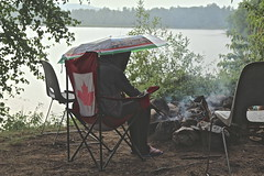 In Madawaska (Sylvie Poitevin Photography) Tags: lake ontario campfire madawaska