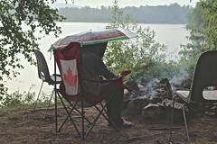 In Madawaska (Sylvie Poitevin Photography) Tags: lake ontario campfire madawaska