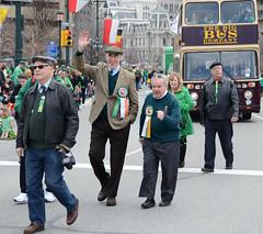With Bill McLaughlin at the parade