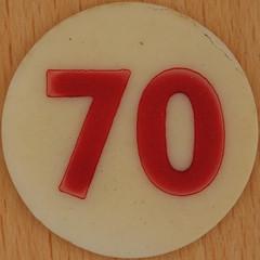 Bingo Number 70 (Leo Reynolds) Tags: xleol30x squaredcircle number numberbingo xsquarex bingo lotto loto houseyhousey housey housie housiehousie numberset 70 seventy sqset120 70s canon eos 40d xx2015xx xxtensxx sqset