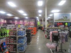 Dunham's Interior (Random Retail) Tags: retail store bradford pa former remodel recycle kmart reuse 2015 dunhamssports