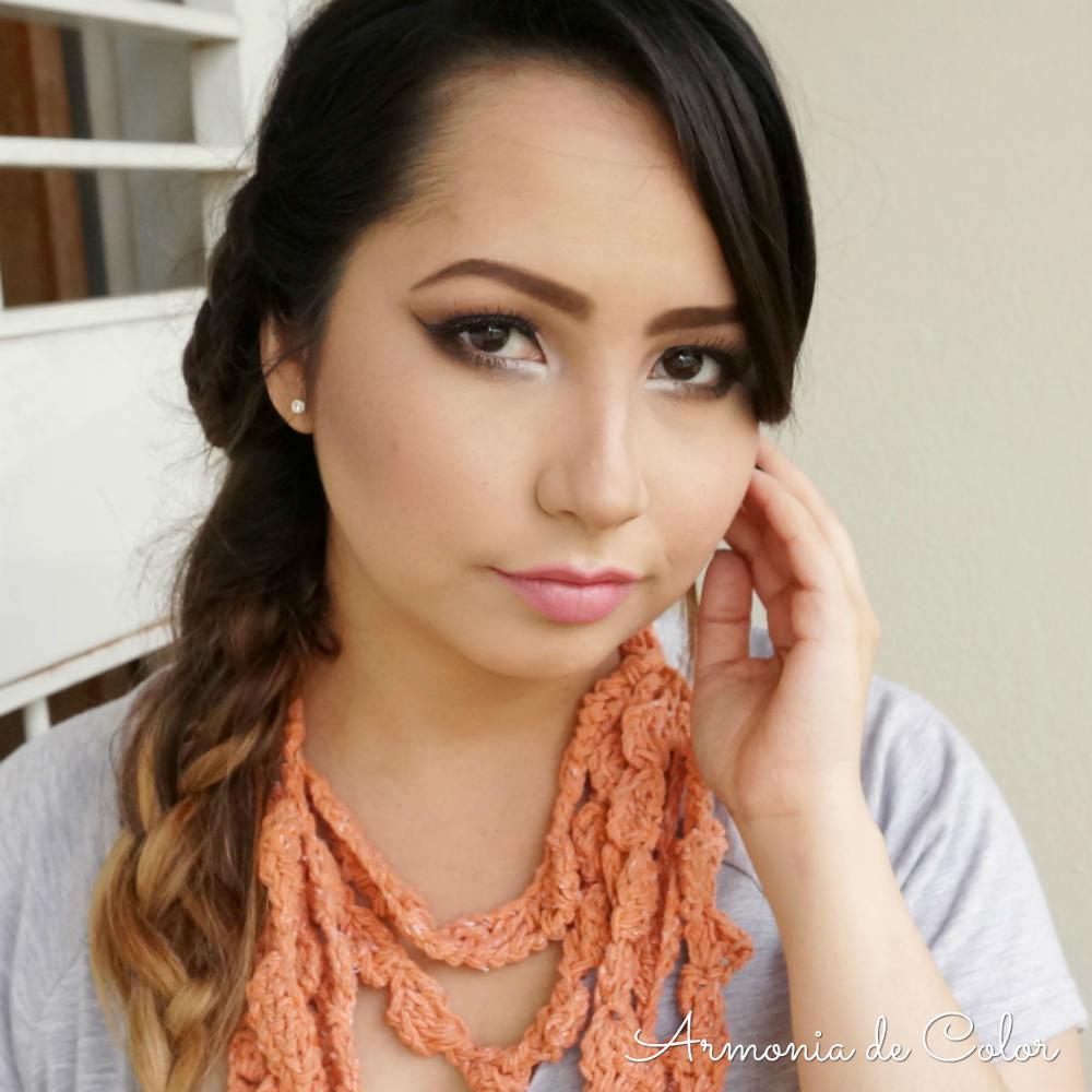 Maquillaje romantico en rosado 5
