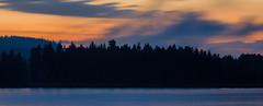 August Midnight Panorama (@Tuomo) Tags: sunset summer panorama night finland landscape nikon df midnight photomerge jyväskylä pf päijänne 300mm4