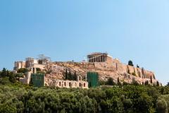 The Acropolis of Athens (Erika & Rüdiger) Tags: temple europe hill athens parthenon greece ancientgreece classicalantiquity acropolisofathens