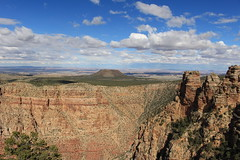 IMG_1584 (Rana Saltatrice) Tags: sky panorama usa nature clouds america landscape nationalpark rocks view grandcanyon cielo vista rocce paesaggio precipizio formazionerocciosa canon100d rebelsl1 valentinaconte