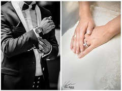 Ready For the Wedding (ufukakengin) Tags: detail love closeup groom bride nikon couple buttons details watch ceremony sigma romance ring suit weddingdress proposal thering brideandgroom 70200mm vow d600 forevertogether