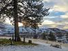 The Tree on the Hill (amarilloladi) Tags: sunset gravestones burial winter smalltown graves graveyard hill tmt trees tree