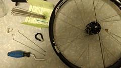 Wheel building (gunnsteinlye) Tags: bicycle skien norway wheel spokes hub