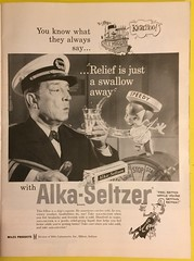 LIFE MAGAZINE JANUARY 19, 1959 ---ALKA-SELTZER AD, 1959 (woody1778a) Tags: time magazine 1959 advertising ads history historical memories america usa
