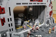 The Hangar (TWC Productions) Tags: lego star wars hangar twc battlefront base