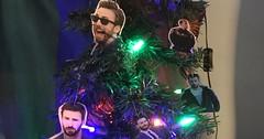 People Are Already Decorating Their Trees With Famous Chrises (Chikkenburger) Tags: memebase memes art trolling pranks tricks lies aot internet troll cheezburger chikkenburger