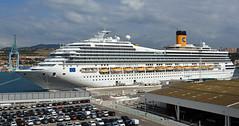 Costa Fortuna at Marseille 2 (PhillMono) Tags: nikon dslr d7100 harbour dock ship boat vessel cruise voyage marseille france costa fortuna
