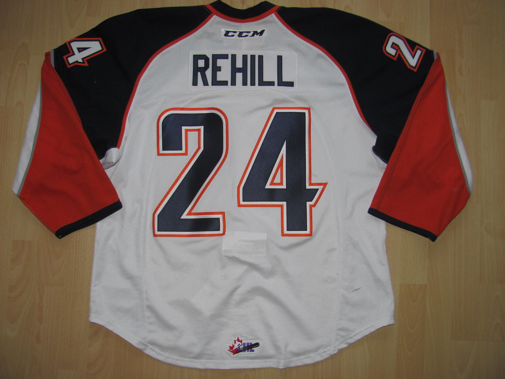 24 Ryan REHILL Game Worn Jersy (kirusgamewornjerseys) Tags  24 kamloops  blazers ryan 149cbd12c