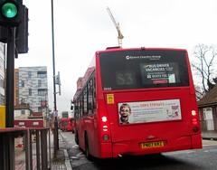 Quality Line SD52 on route S3 Sutton Green 21/12/16. (Ledlon89) Tags: london bus bsues londonbus londonbuses sutton surrey transport tfl