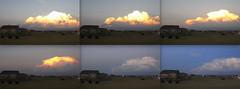 Time Series:  Kimball, Nebraska Thunderstorm (northern_nights) Tags: timeseries nebraska thunderstorm sunset skyfire firesky redskies thunderset