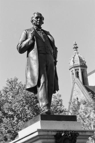 Adelaide Uni Statue