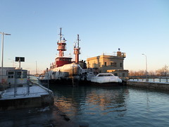 Katie G McAllister and Colleen McAllister (logan007) Tags: katiegmcallister colleenmcallister wellandcanal stcatharines canal tugboats