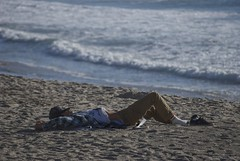 Naptime....I'd be asleep on the beach too if I were trying to read Economic Theory! (Joe Hengel) Tags: socal southerncalifornia sanclemente sea beach beachocean seascape seaside seashore sand waves water person orangecounty oc outdoor orange theoc goldenstate california ca sleeping book economictheory nopillow calafiabeach pacificocean