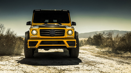 Mercedes-Benz G by Mansory
