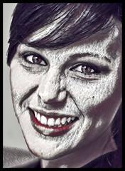 (Cliff Michaels) Tags: nikon photoshop pse9 prisma portrait women face