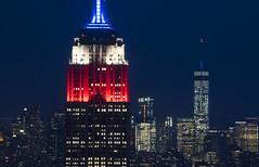 NH0A6322s (michael.soukup) Tags: newyork newyorkcity skyline manhattan empirestate worldtradecenter cityscape sunset dusk skyscraper citylights architecture midtown rockefeller 30rock tower bluehour nyc building