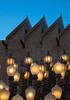 LACMA #2 (Robert Borden) Tags: lacma installation bluehour lights lightposts art northamerica usa westcoast california socal la losangeles labrea sky californialiving californialove canon canonphoto canonrebel lampposts