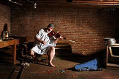 Music from the Underground (Studio d'Xavier) Tags: werehere thetalentnetwork musicfromtheunderground 365janurary6 2017 365 january62016 6365 violin saintdymphnasinfirmaryforthecriminallyinsane