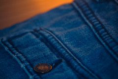 Blue Jean (eskayfoto) Tags: canon eos 700d t5i rebel canon700d canoneos700d rebelt5i canonrebelt5i blue jeans jean clothing trousers closeup button denim seam bowie david davidbowie ripdavidbowie sk201701086078editlr sk201701086078 lightroom