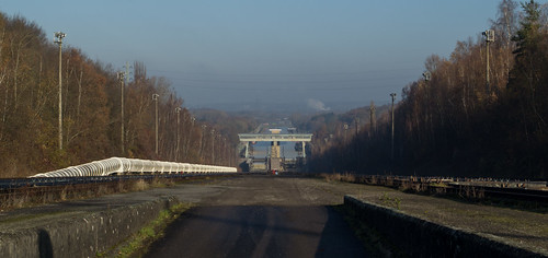 Belgium Ronquières canal incline (#0196)