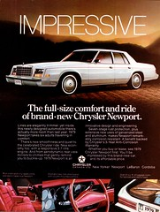 1979 Chrysler Newport (Canadian Ad) (aldenjewell) Tags: 1979 chrysler newport canada ad