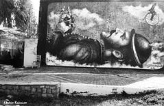 Street Graffiti Stories (Eleanna Kounoupa) Tags: ελλάδα αττική ελευσίνα μαυρόασπρεσ γκράφιτι ζωγραφική greece attica elefsina bw blackwhitephotos blackandwhite graffiti painting street δρόμου
