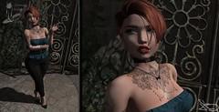 Carmella Devine (Hopathia Shinobu) Tags: nfinity azuchi bish box e l i t ison kosmetik luxe oh my gacha poema tram vinyl white widow