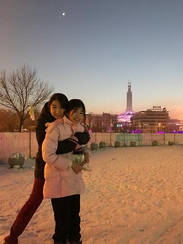 2017-01-02天津泰达mall玩雪