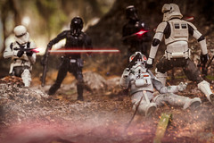 Leave No Trooper Behind! (Vimlossus) Tags: starwars toy actio figure deathtroopers