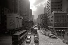 Porst SP Hong Kong - Mong Kok 旺角 (▓▓▒▒░░) Tags: hongkong street vintage analog people city energy china uk classic retro 35mm film camera japan cross process analogue
