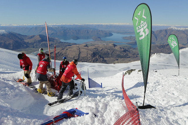 DB Export Banked Slalom 2014 - Treble Cone - Start