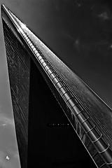 Rotterdam CS (jo.misere) Tags: roof sky bw black station rotterdam flag dak centraal zw vlag 1467895