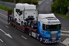WS Transportation 4X013 PK14 UWS A1 Washington Services 1/6/15 (CraigPatrick24) Tags: road truck washington cab low transport lorry delivery vehicle a1 trailer loader scania logistics ws lowloader stobart scaniar450 washingtonservices wstransportation a1washington a1washingtonservices 4x013 pk14uws