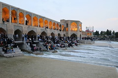 Iran_6638 (DavorR) Tags: bridge iran most esfahan isfahan khajoo persianarchitecture khajubridge