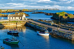 Ballintoy Harbor (snapdragginphoto) Tags: uk earlymorning northernireland crusader irishrover goldenlight ballintoy fadedrose ballintoyhabor ballintoyhabour evelynmccullough
