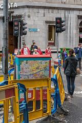 Dawson Street (pni) Tags: street ireland light people dublin woman man sign wall corner fence person traffic map pavement being human ire bailethacliath skrubu d15 pni pekkanikrus