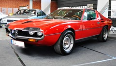 Alfa Romeo Montreal V8 2.6 (1974) Design Marcello Gandini (Bertone) (Transaxle (alias Toprope)) Tags: auto autos car cars coche coches classics classiccars classiccar carro carros classic macchina macchine motor motore voiture vintage voitures veteran veterans vintagecar retro klassik motorklassik oldtimershow berlin meeting paarenglien soul beauty power toprope nikon d90 autoshow 10favs mostfavedplus 15favs automoviles 25favs