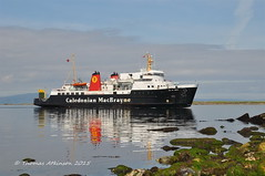 MV ISLE OF ARRAN, Arriving At Ardrossan (Time Out Images) Tags: scotland clyde united north kingdom isle calmac arran mv firth ayrshire ardrossan