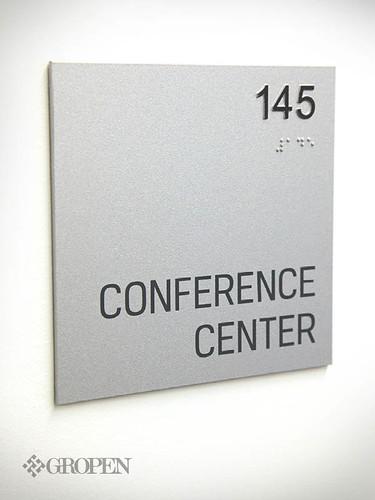 ADA Room sign