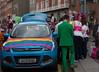 DUBLIN 2015 LGBTQ PRIDE FESTIVAL [PREPARING FOR THE PARADE] REF-106217