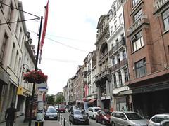 Hoogstraat in the Marolles (Joop van Meer) Tags: brussels hoogstraat 2015 marolles gr12