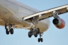 SK0501 CPH-LHR: LN-RKP first visit to London Heathrow (A380spotter) Tags: london 1st heathrow wing engine first landing belly finals landinggear airbus sk 300 arrival sas approach lhr a340 flaps dxb threshold undercarriage egll turbofan 27r cfm56 nosewheel maingear sasscandinavianairlines cfmi cfminternational leadingedgeslats runway27r shortfinals cfm565c4 cphlhr centregear firstvisittolhr firstvisittoheathrow sk0501 lnrkp torfinnviking