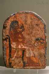 A Stela from Amarna (j. kunst) Tags: nederland netherlands holland 荷兰 noordholland amsterdam 阿姆斯特丹 allardpiersonmuseum archaeologicalmuseum universityofamsterdam uvasculpture stela limestone painting deceased lotusflower lotus offeringtable anepigraphic egypt egyptian akhetaten tellelamarna amarna newkingdom 18thdynasty 14thcenturybce