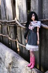 Jane (♥ Lily Queens ♥) Tags: doll with dancing jane ooak kittens custom sekiguchi momoko reroot